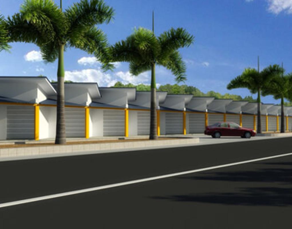 Proposed pineapple stalls complex- Belummahara-1